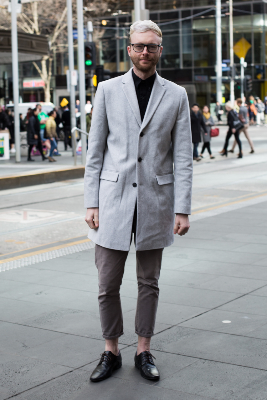 "VIC: Russell Lamb, oral health therapist, Bourke St. ""I try to look wealthier than I am."" Photo: Zoe Kostopoulos"