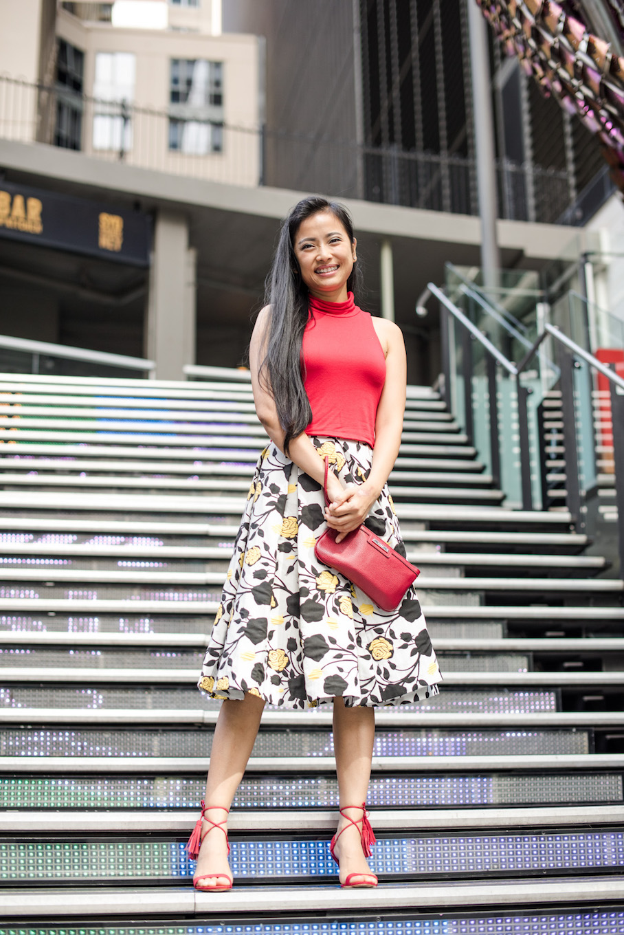 "NSW: Angel, Sales, spotted in Pitt St Sydney. ""I love smart casual."" Photo: <a href=""http://frederiquemadi.com/"" target=""_blank"">Frédérique Madi </a>"