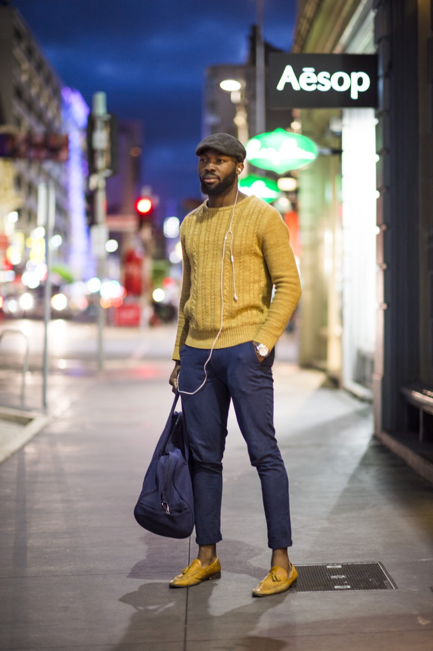 """SA: Gerald, student, Rundle St, Adelaide. """"It's a lifestyle."""" Photo: Eli Francis"""