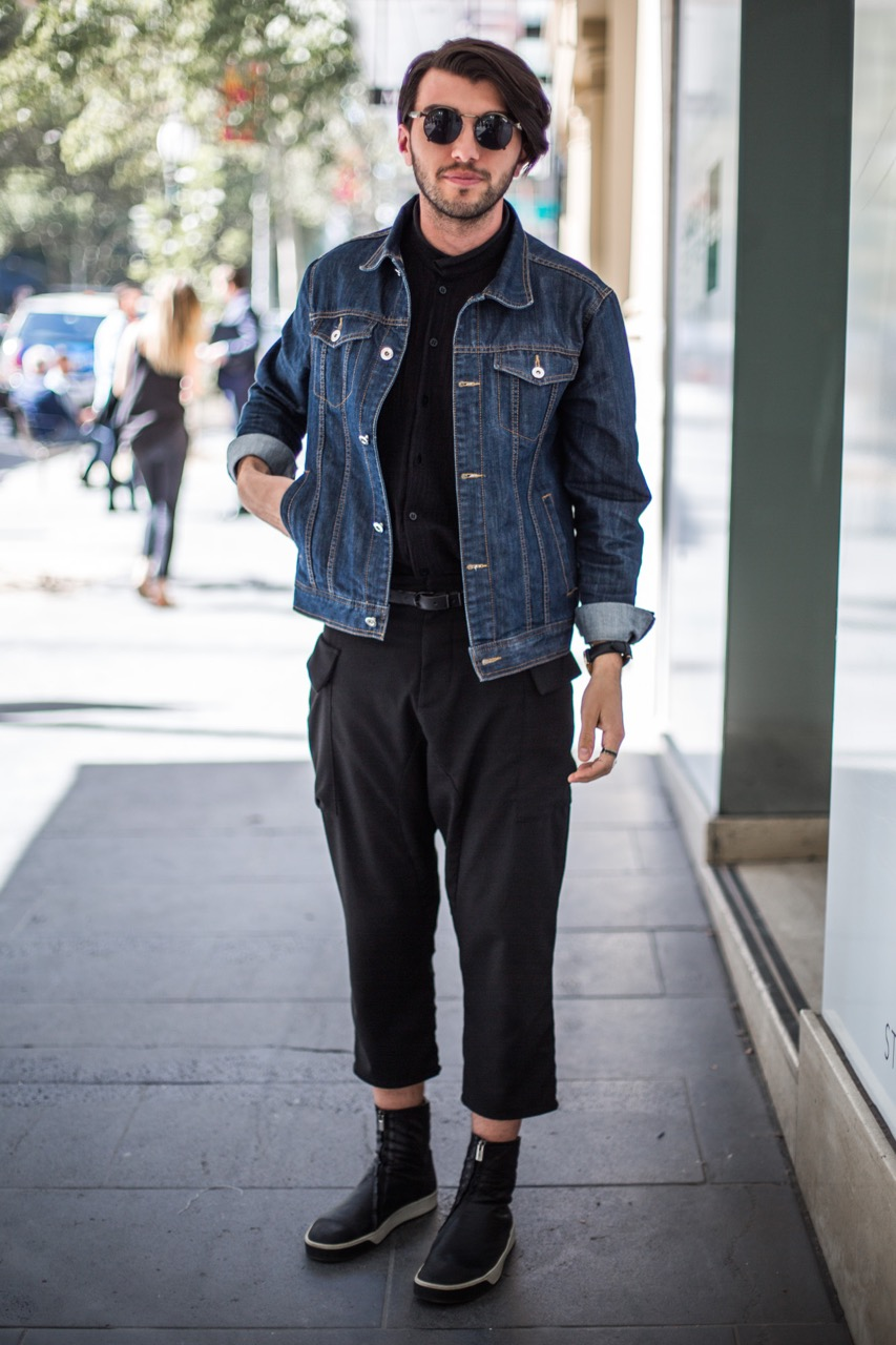 "VIC: Robert Eau , web designer, Melbourne. ""War, journey and now I'm here."" Photo: Zoe Kostopoulos"