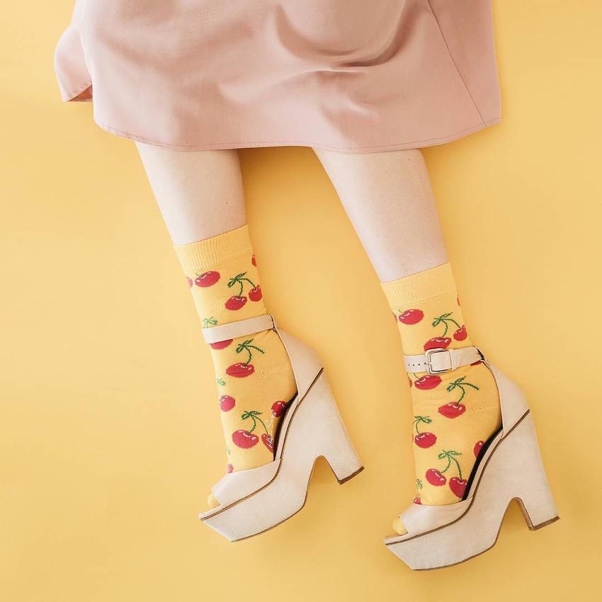 "Happy Socks. Photo: <a href=""https://www.instagram.com/valeriyamltsv/?hl=en"" target=""_blank"">@valeyriamltsv</a>"