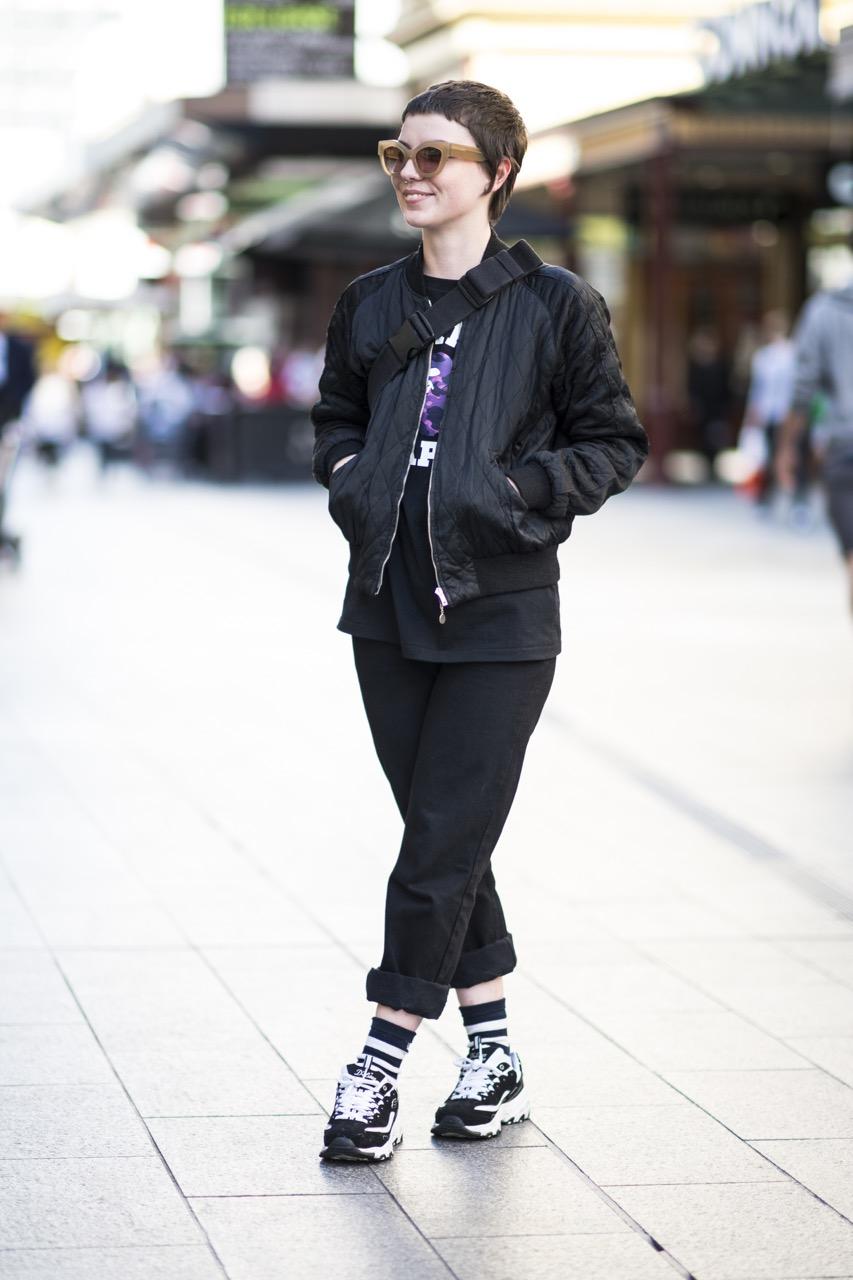 SA: Drew Martin, student, Rundle Mall. Photo: Eli Francis
