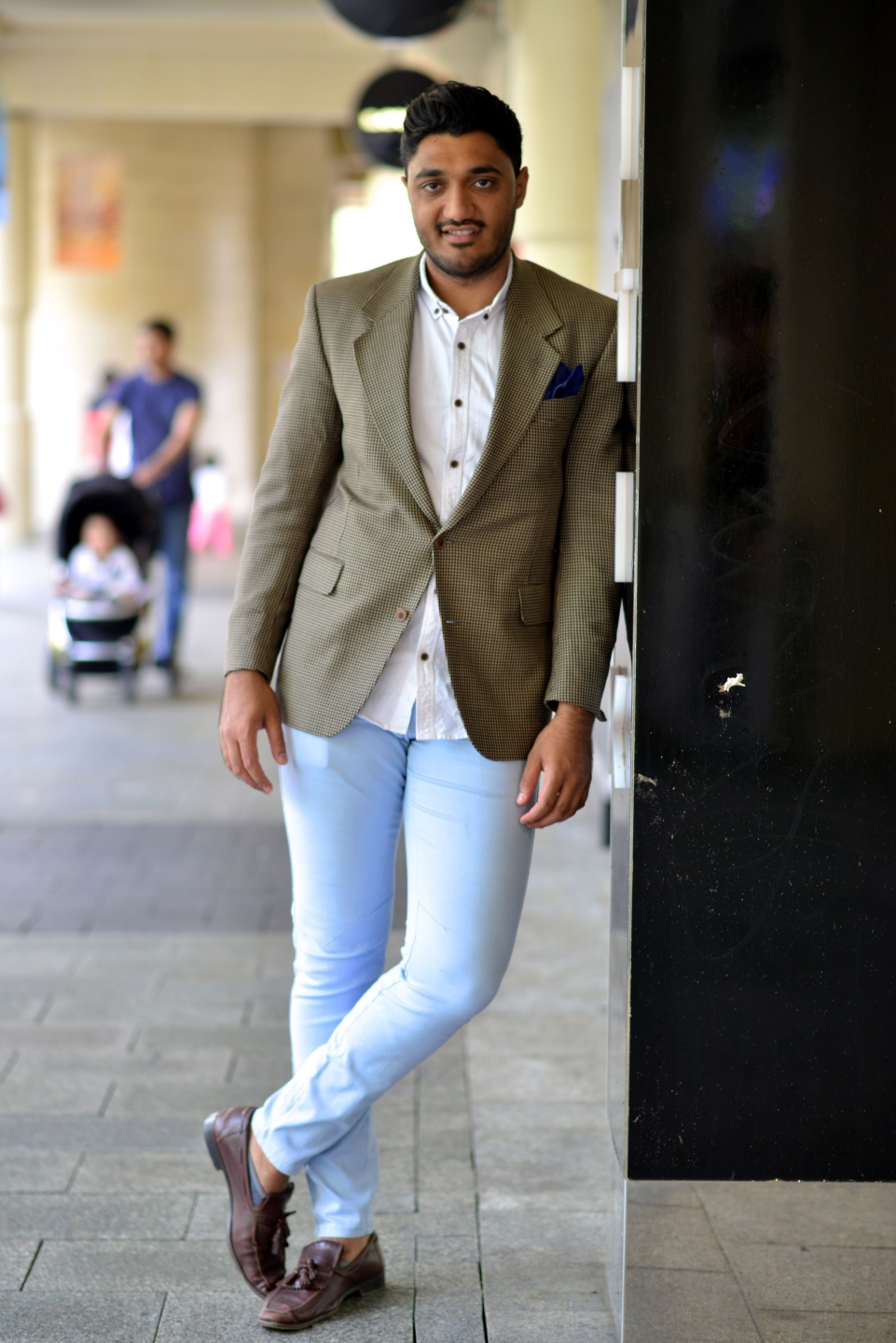 "WA: Vincy Chavda, area manager, Perth. ""I prefer smart casual and comfortable, easy to wear and stylish."" Photo: Alan Wu"