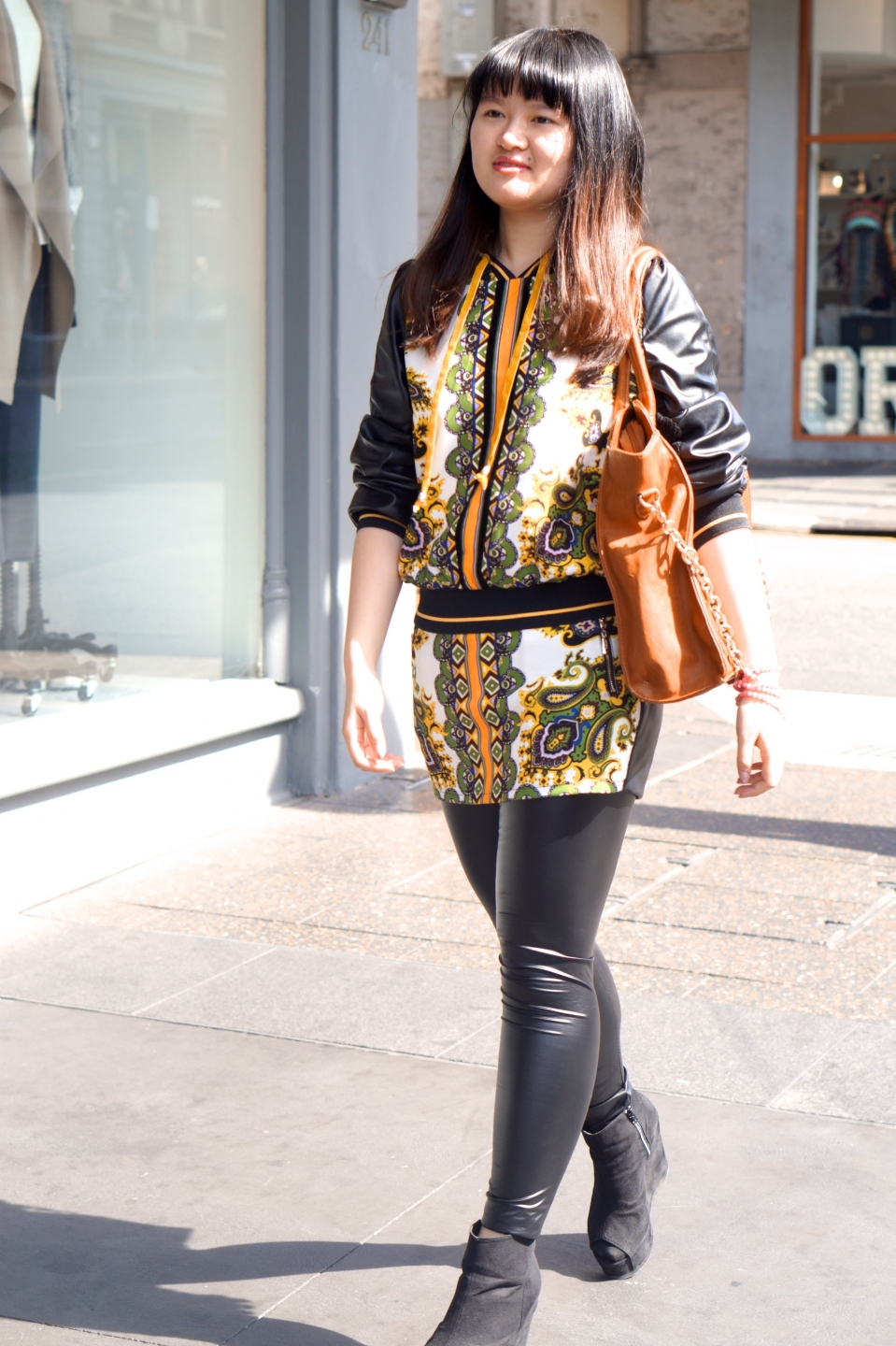 "SA: Shijia Huang, accounting student, Rundle St East. ""I like the sunshine."""