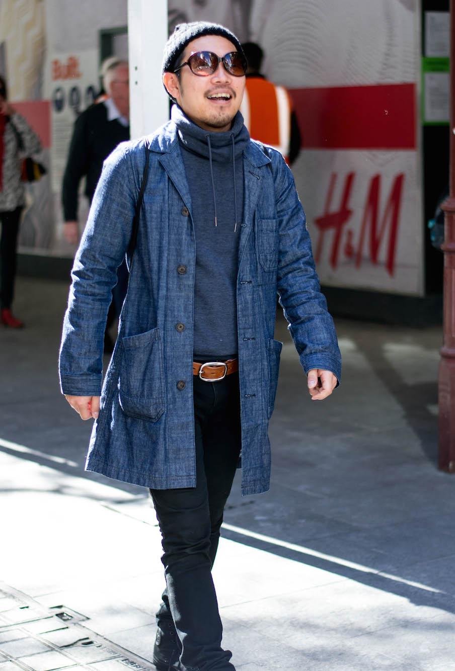 NSW: Hiroyuki Ono, hairdresser, Pitt St. Photo: Alice Scriberras