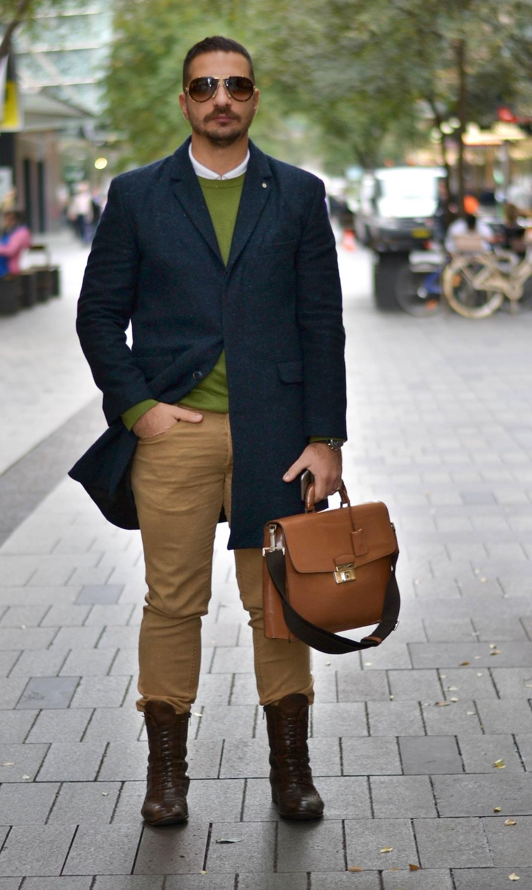 NSW: George Dinkha, stylist, Pitt St Mall, Sydney. Photo: Alice Scriberras.