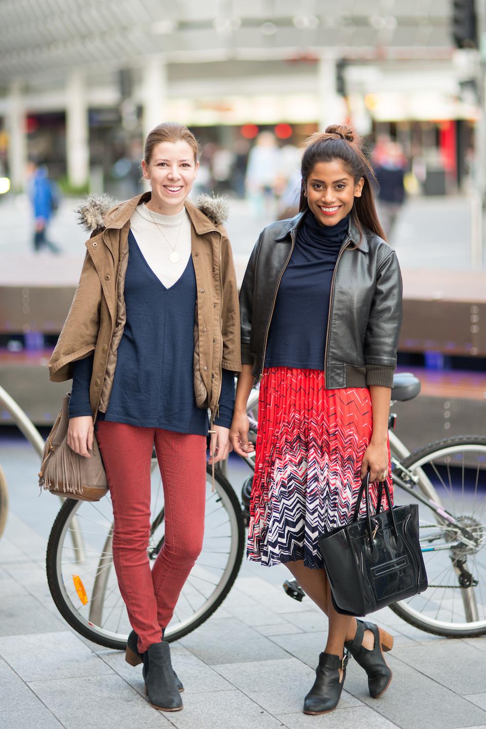 "SA: Joanna Arul & Megan French, Rundle Mall. <a href=""http://www.foxowlphotos.com/"" target=""_blank""> Photo: John Wilson </a>"