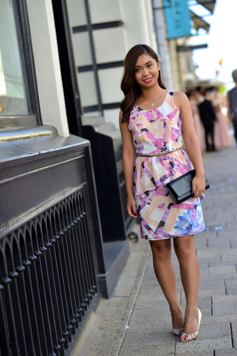 "WA: Anchisa Saiken, accountant, Perth. ""I like to be elegant but still have fun with style."" Photo: Alan Wu"