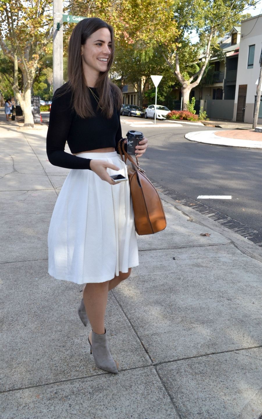 "NSW: Kara Billsborough,  PR consultant, Sydney. My style's a combination of relaxed and elegant."" Photo: Alice Sciberras"