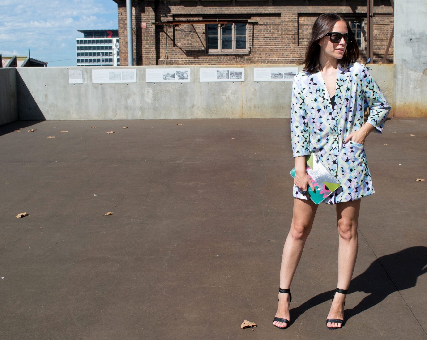 "NSW: Bianca O'Neil, editor, Carriageworks. ""My style's rock n roll chic."" Photo: Alice Sciberras."