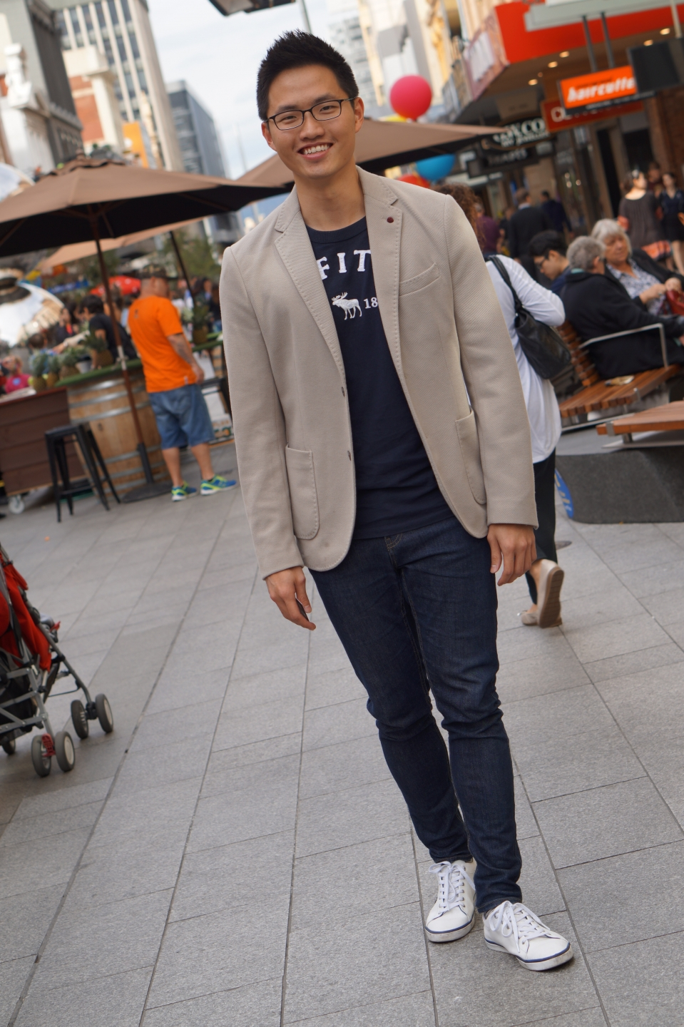 "SA: Jason Chia Jun Yuan, accounting, Rundle Mall, Adelaide. ""I'm job hunting at the moment."""