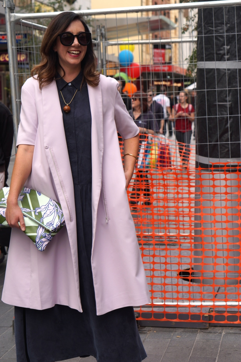 """SA: Libby Spring, fashion designer, Rundle Mall. """"I wear whatever I fancy on the day, always with a bit of colour."""""""