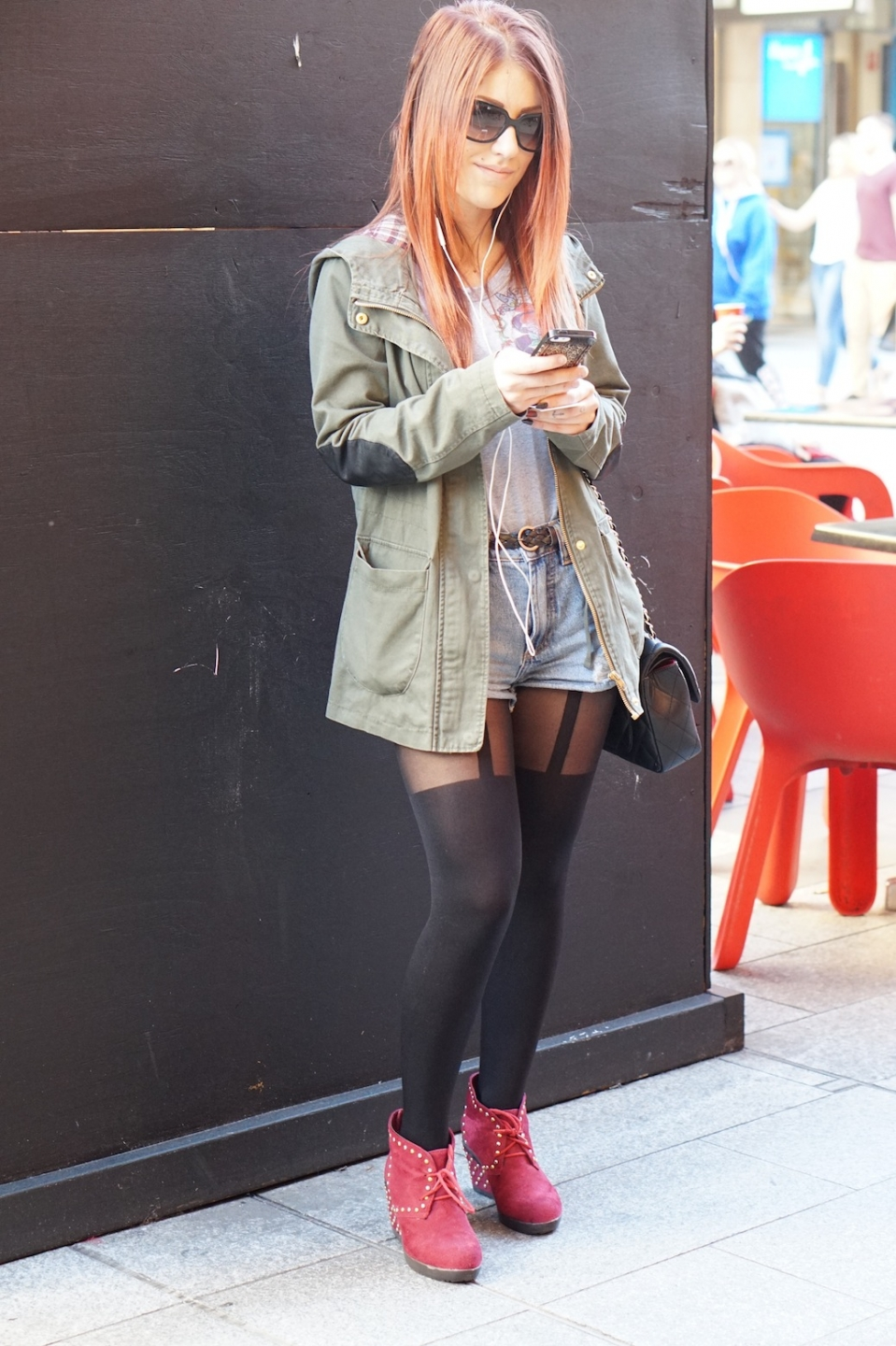 "SA: Deborah, Rundle Mall, Adelaide. ""I love shopping. Everything I'm wearing is from Italy."""