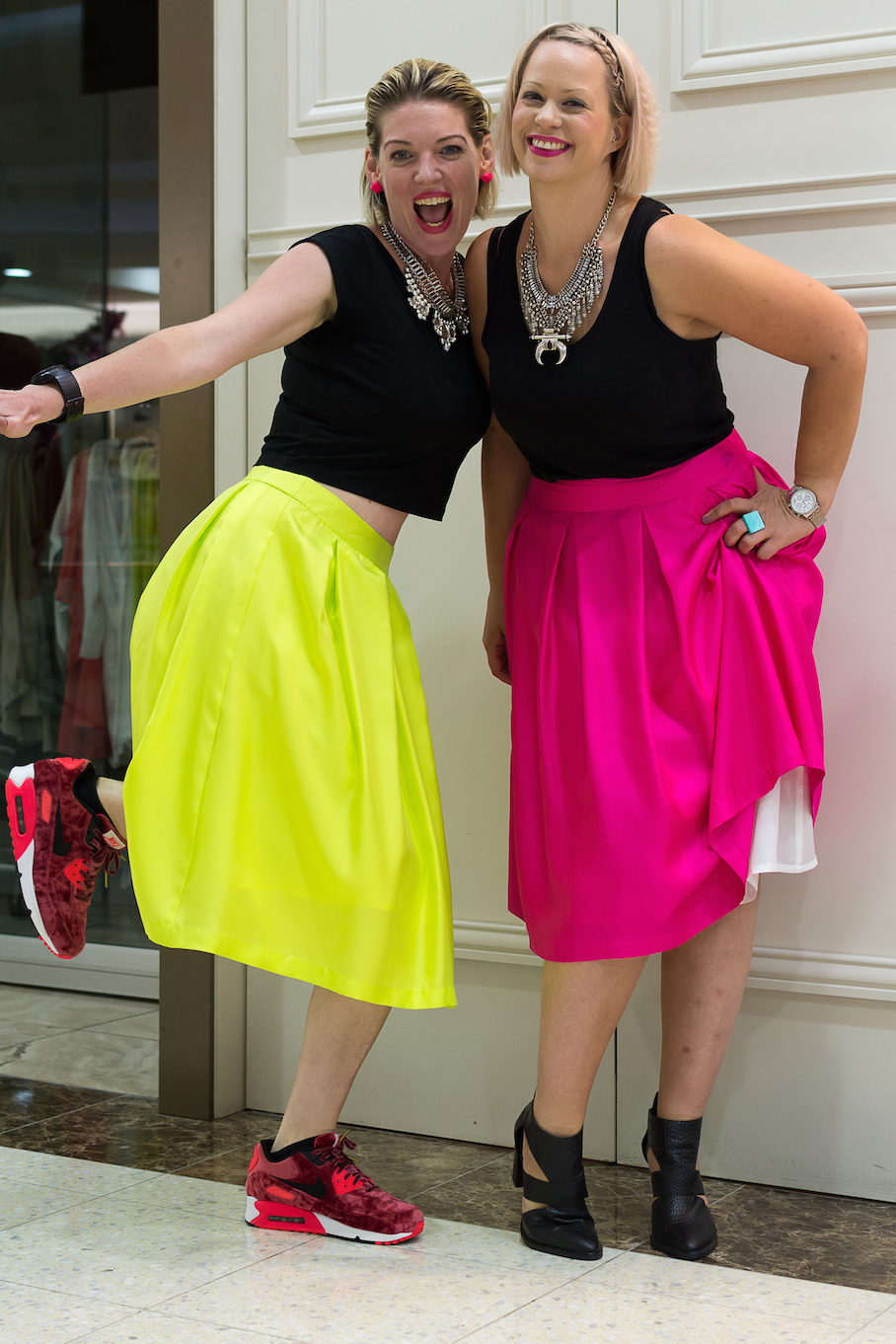 "SA: Eloise Houseman & Rebel Freeman, creative & media brains behind <a href=""http://www.dontdopretty.com/"" target=""_blank"">Don't Do Pretty</a>. ""We're all about powerful clothes for powerful women."" Photo: Dimitra Koriozos"