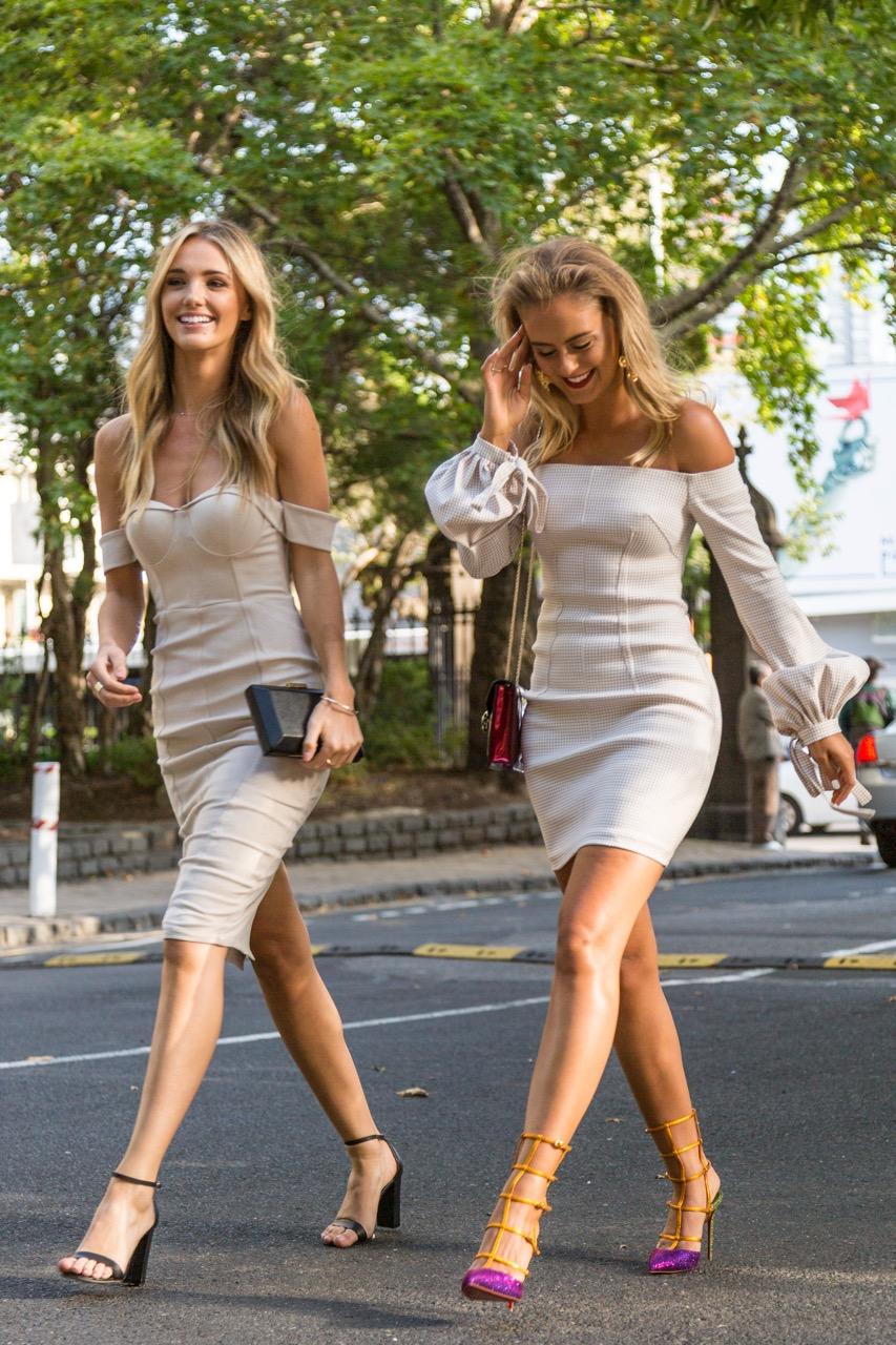 VIC: Brooke Hogan & Steph Smith, models. Photo: Libby Matson