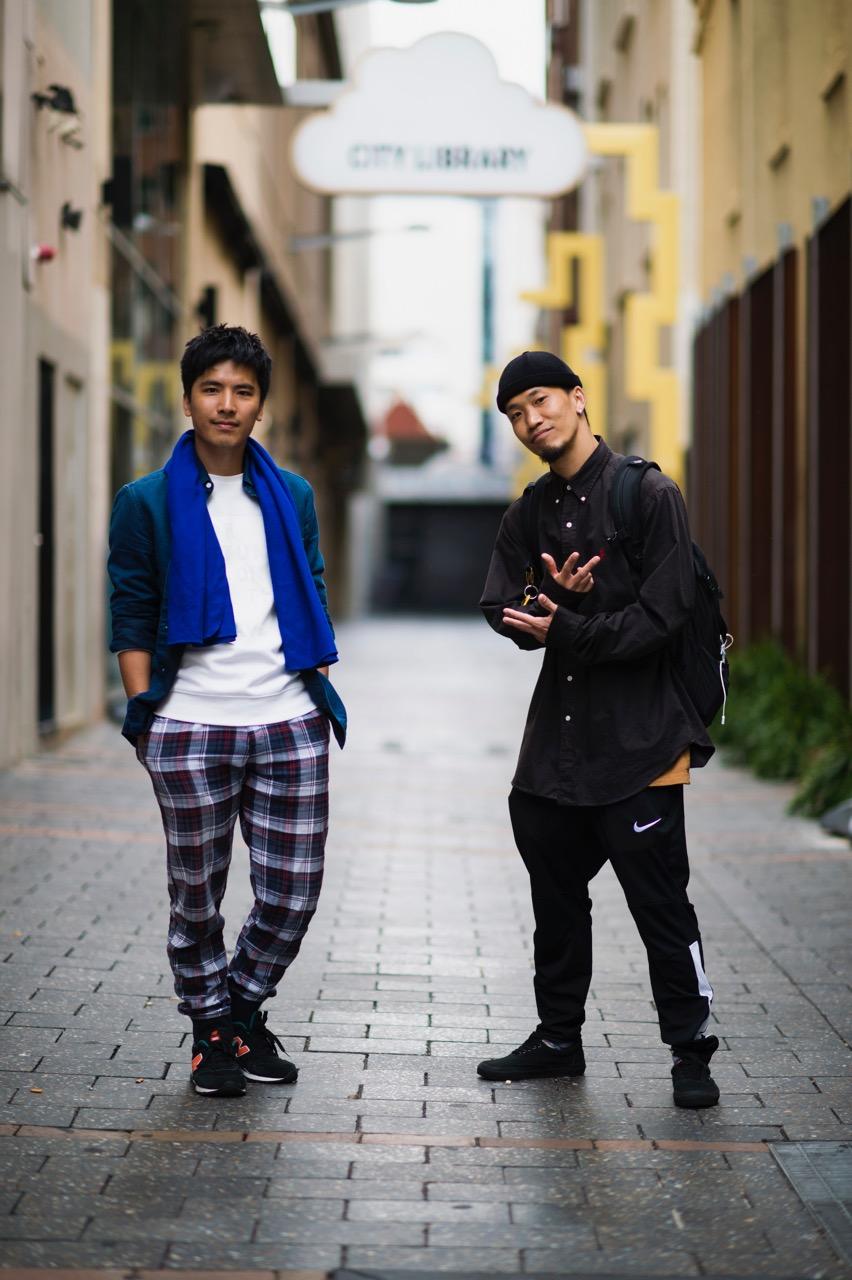 SA: Lip Chan & Kenny Leung. Photo: Eli Francis