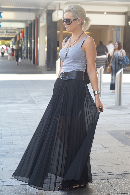"SA: Holly Ford, hairdresser, Pultney St, Adelaide. ""I always overdress."""