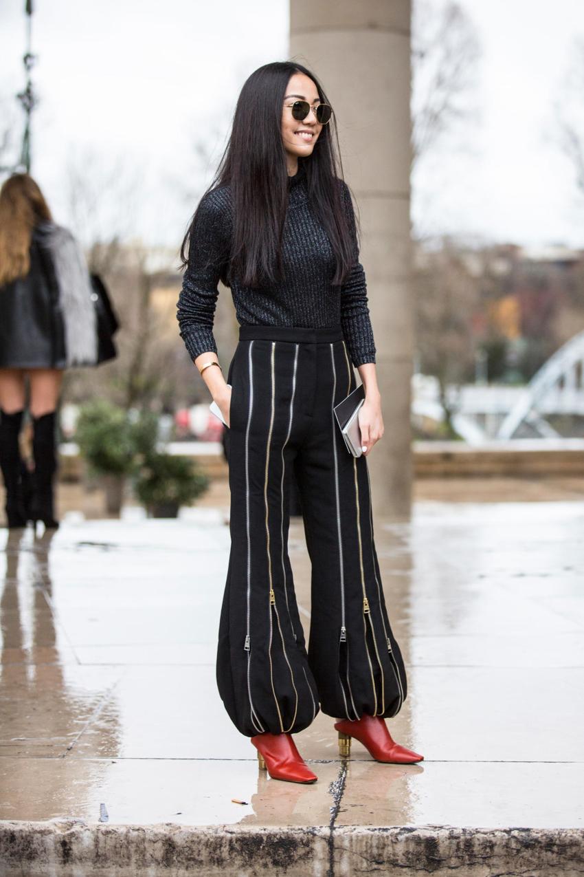 """Paris: <a href=""""http://www.thefashionmedley.com""""target=""""_blank"""">The Fashion Medley</a>"""