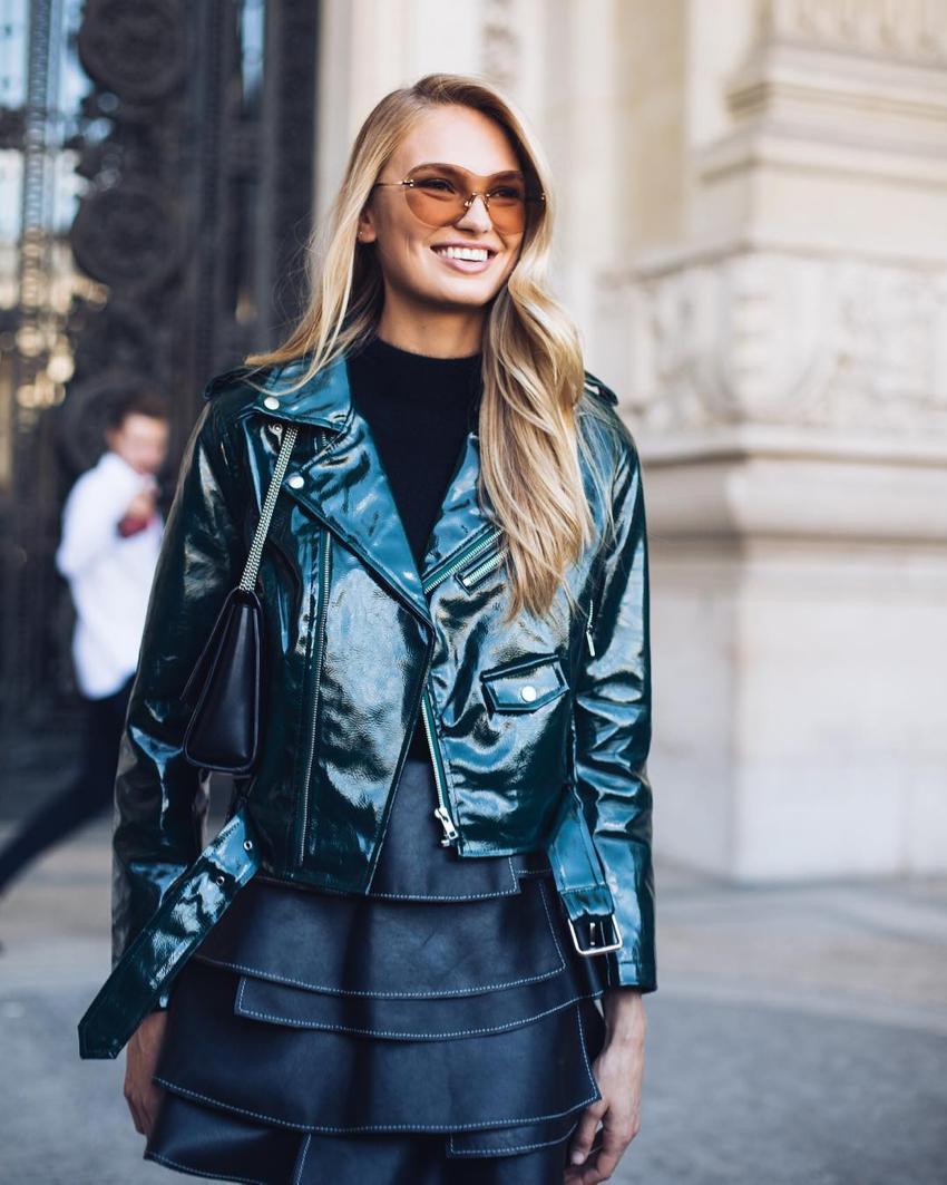 "International Street Style Fashion - Paris: <a href=""https://www.instagram.com/backstreetbyindia""target=""_blank"">Backstreet by India</a>"