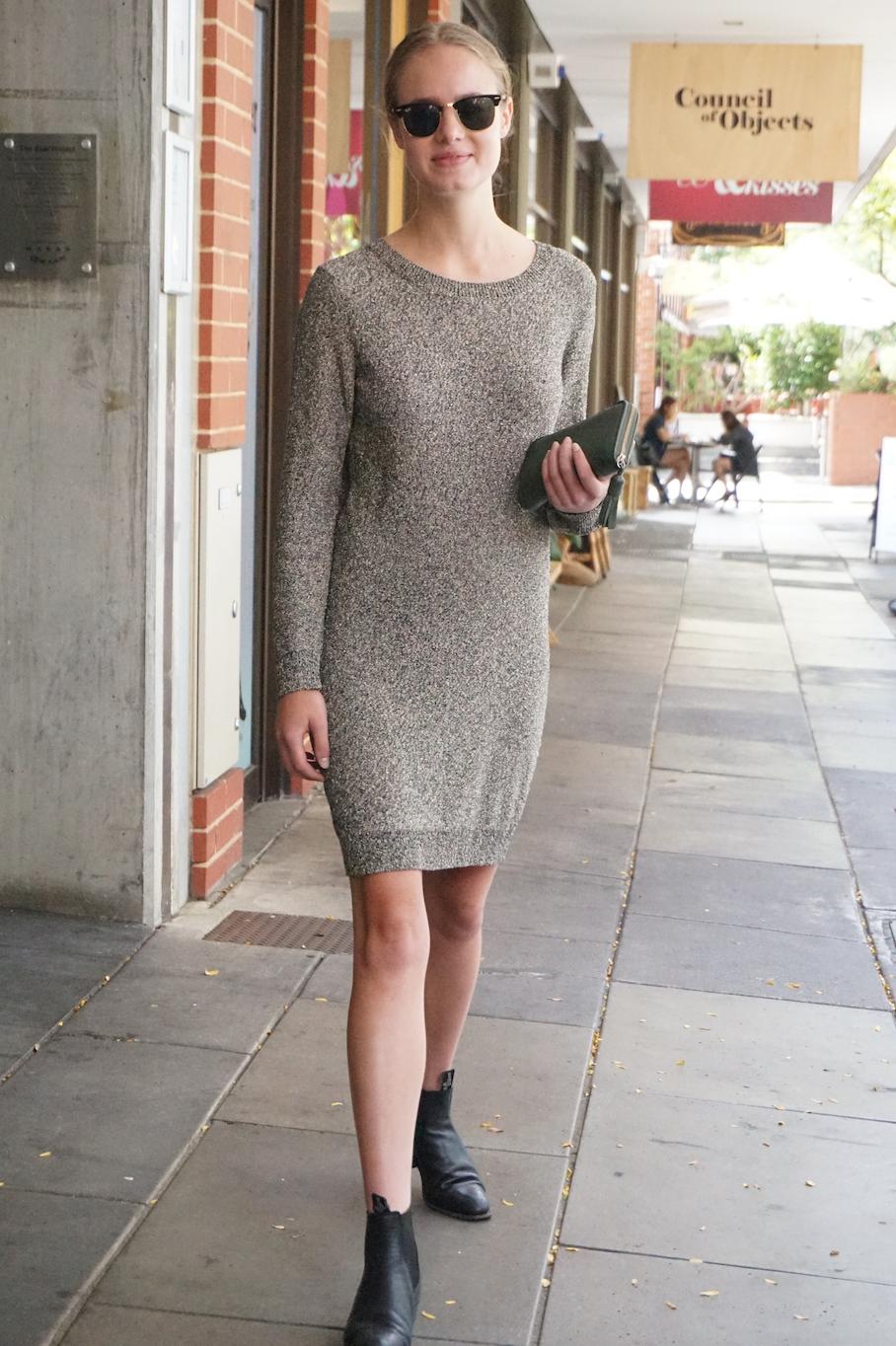 "SA: Claire Marwick-Smith, Student/Designer, Ebenezer Place, Adelaide. ""I'm a try-hard Parisian."""