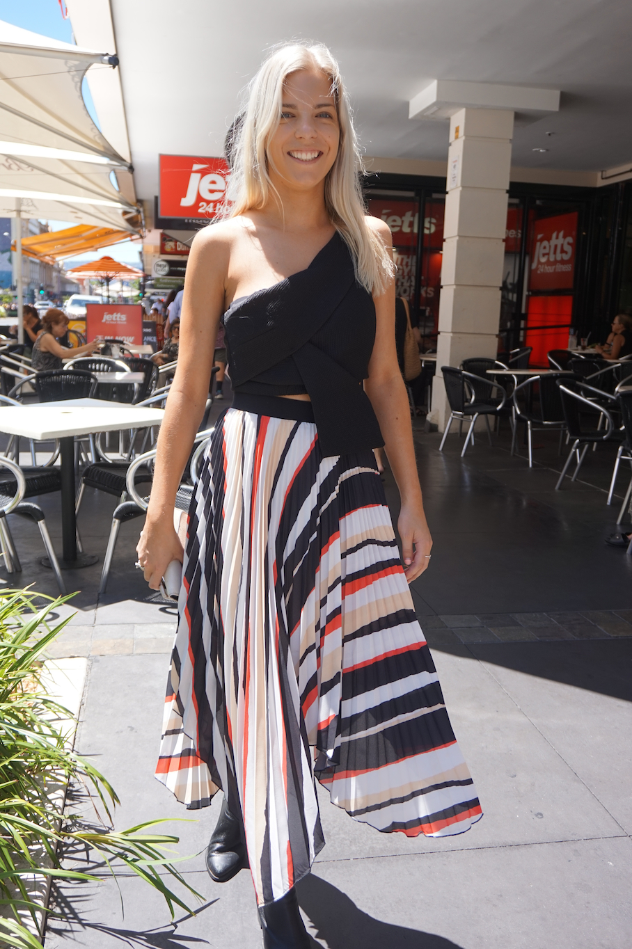 "SA: Daniella Adey, Retail, Rundle St East. ""My favourite blogger is Mimi Elishary."""
