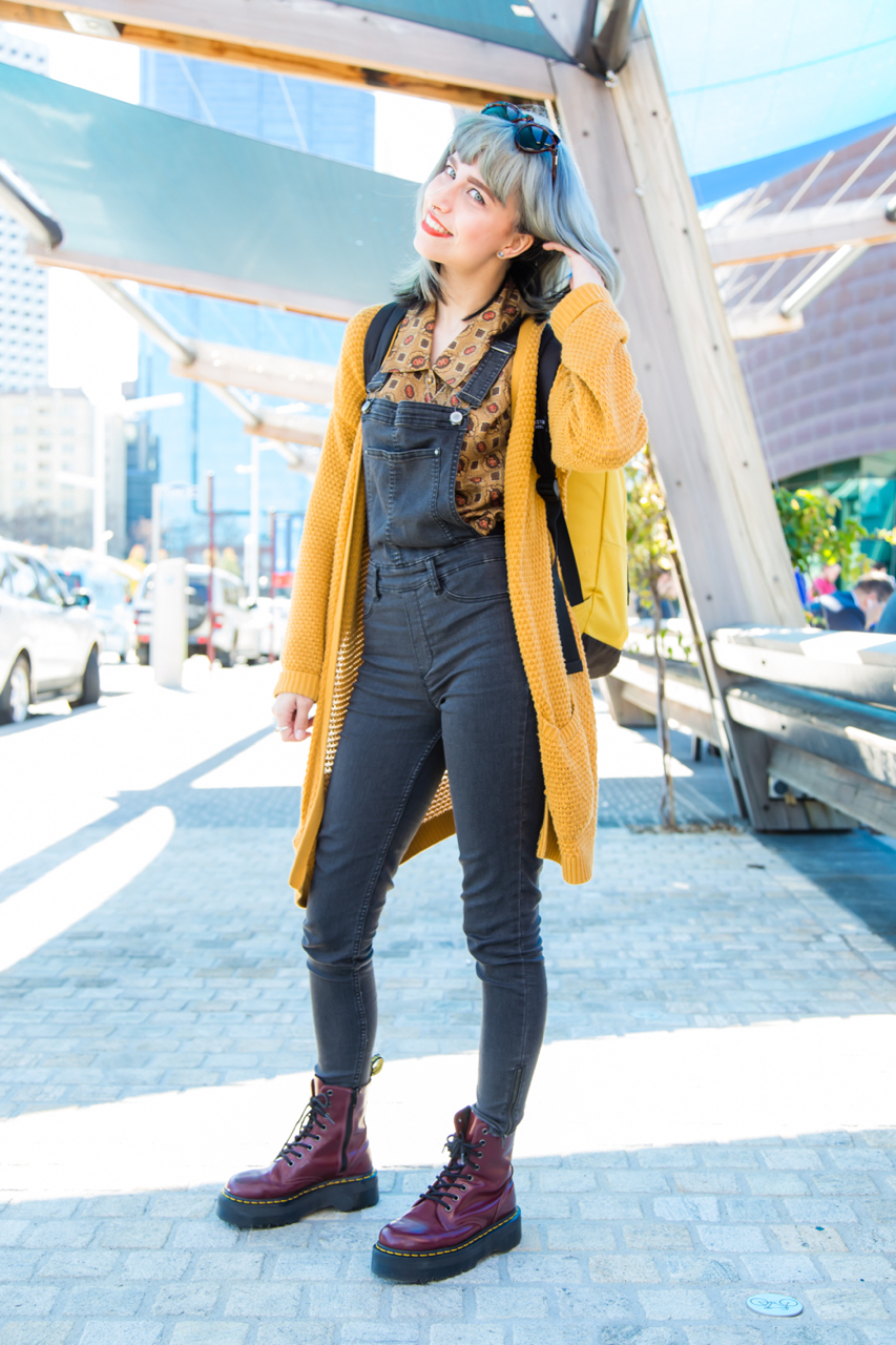 "WA: Serena Waters, Student, Elizabeth Quay. ""I'm just here to catch Pokemon."" Photo: <a href=""http://www.rahstudios.com.au/street-style.html/"" target=""_blank"">Alain Quah</a>"
