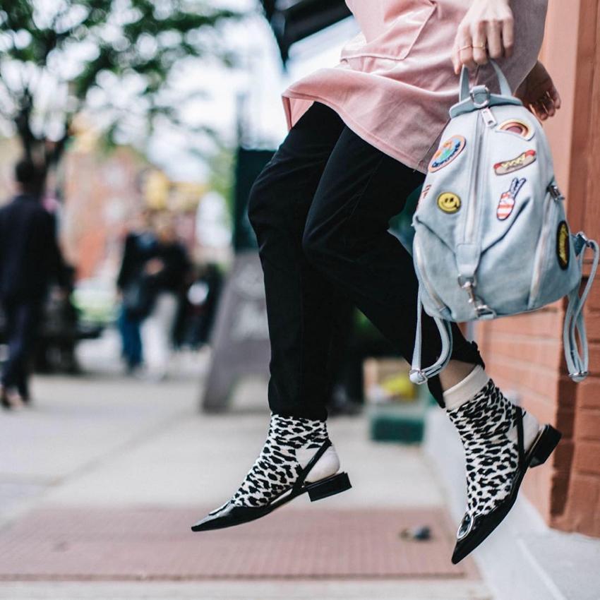 """Happy Socks.  Photo: <a href=""""https://www.instagram.com/stephaniearvelophoto/"""" target=""""_blank"""">Stephanie Arvelo</a>"""