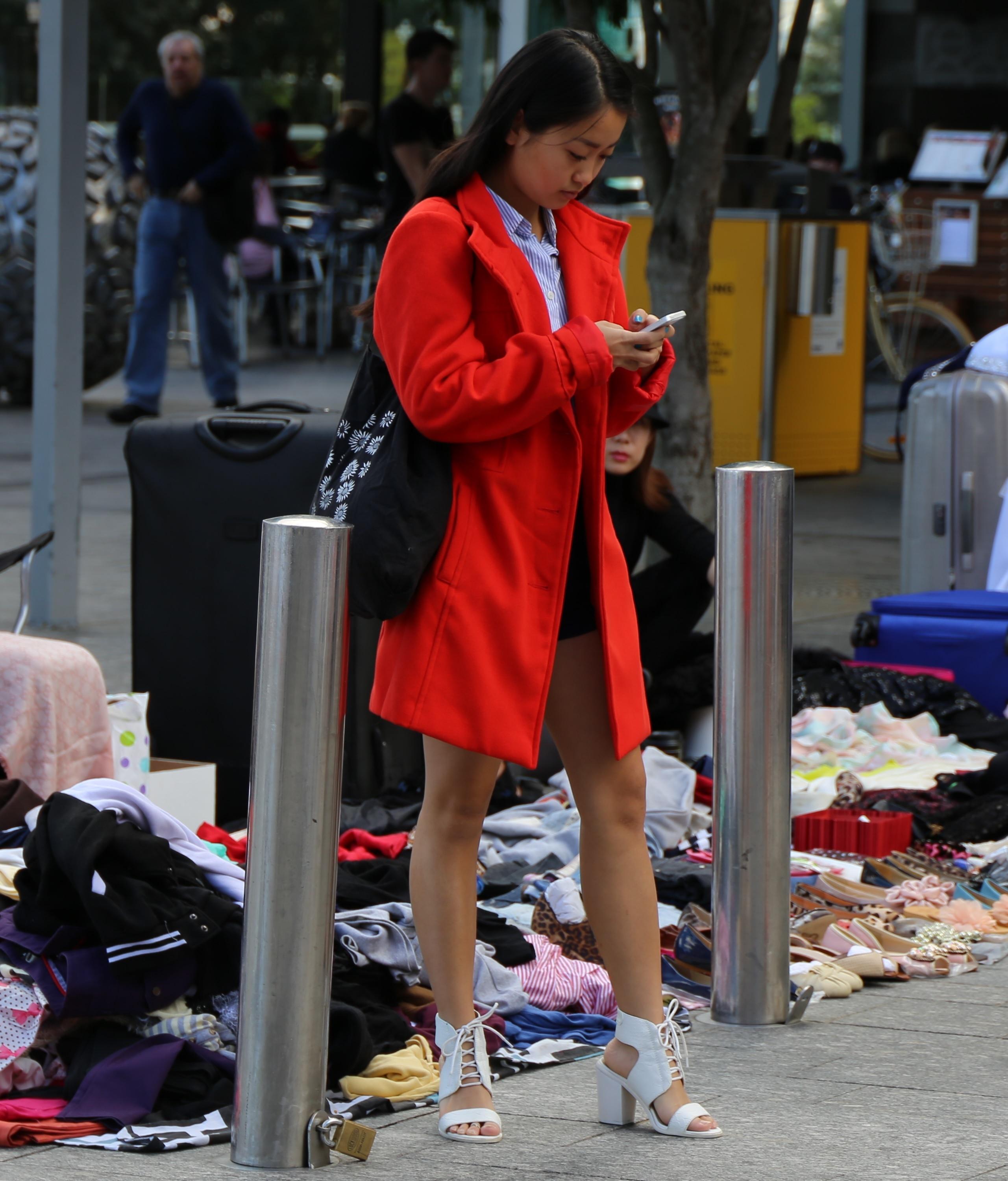 Qld: Kristy Tan, George St, Brisbane. Photo: Aydan McCarthy.