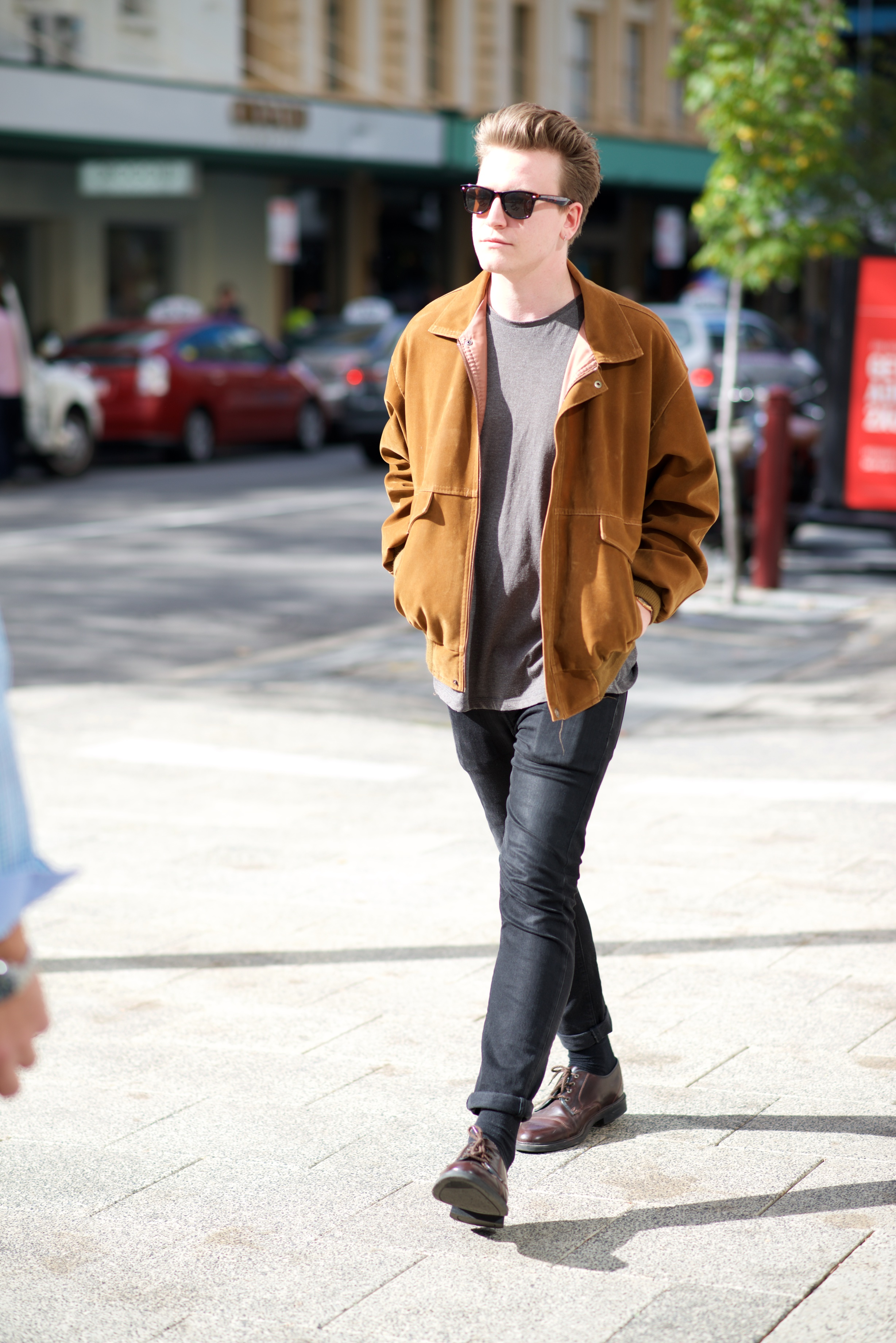 "WA: Ben Pearce, recruiter,  Perth city. ""I'd say my style's Springsteen Chic"". Photo: Alan Wu"