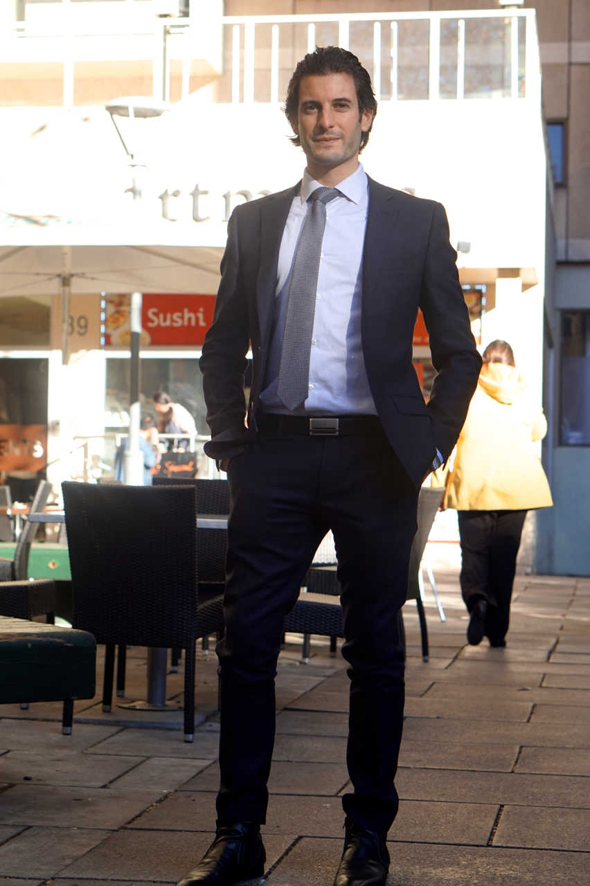 "SA: Anthony Savas, Real Estate Projects, Grenfell St, Adelaide. ""I love coffee."""