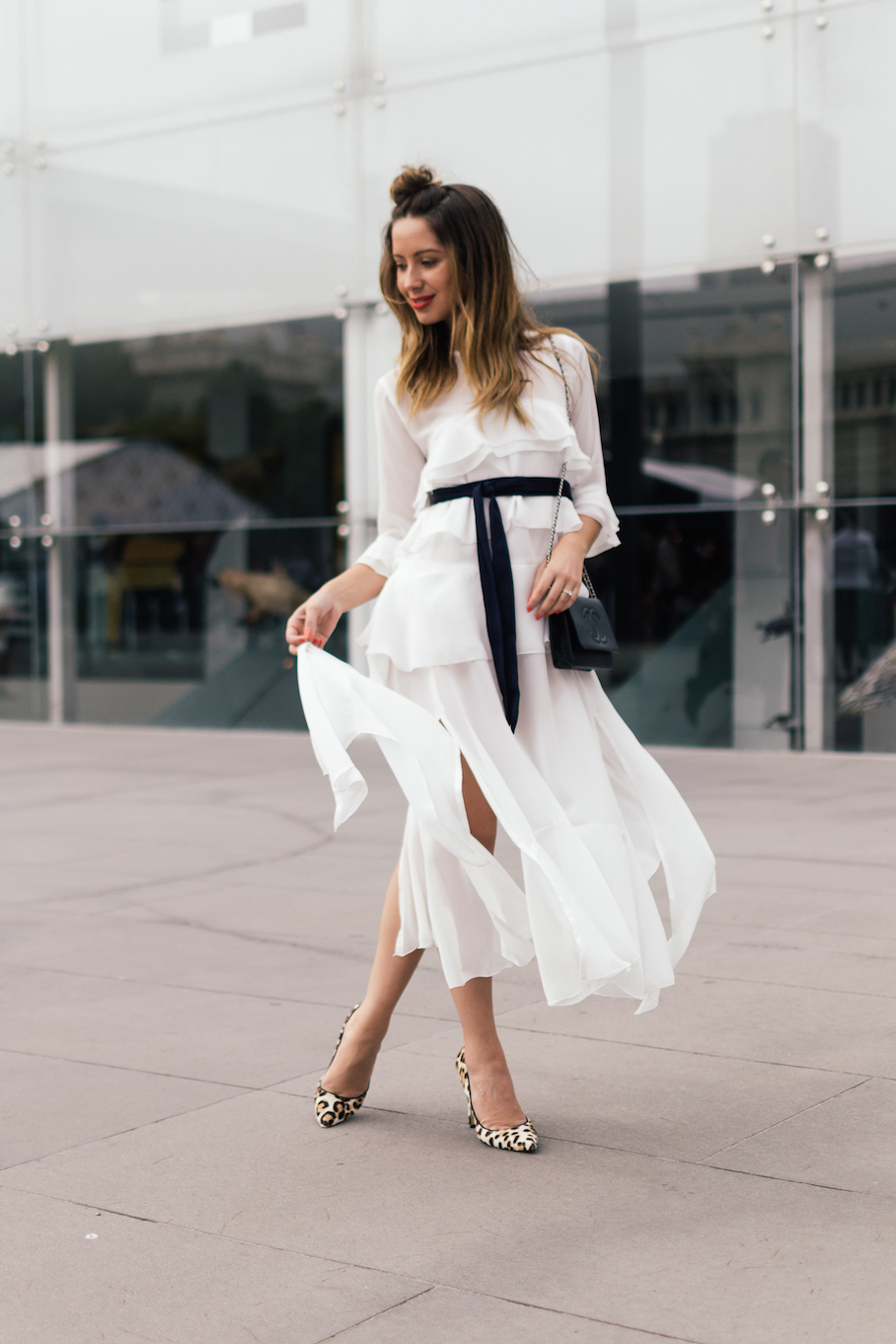 "Vic: Jasmin Howell, Blogger - <a href=""http://www.friendinfashion.com.au/"" target=""_blank"">Friend in Fashion</a>, VAMFF. ""My style's feminine, classic, tailored."" Photo: Dimitra Koriozos"