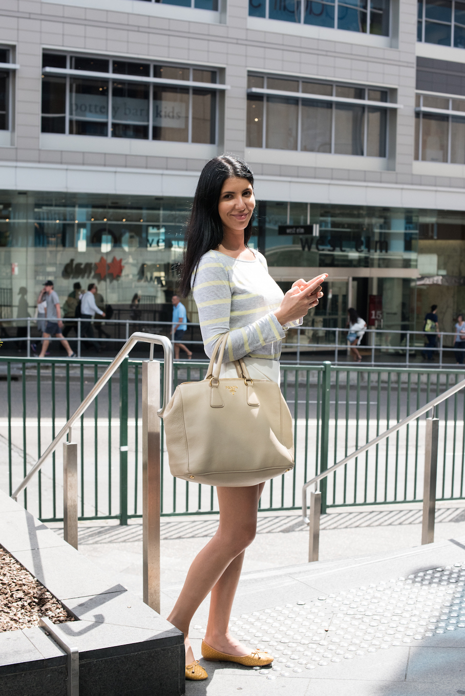 "NSW: Deana Sarwari, spotted in Sydney by  <a href=""http://frederiquemadi.com/"" target=""_blank"">Frédérique Madi </a>. ""I have a comfortable and classic style."""