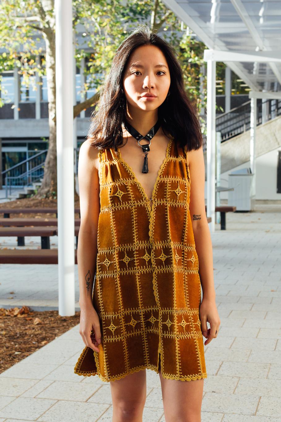 SA: Jessica Wang, student. Photo: Dimitra Koriozos