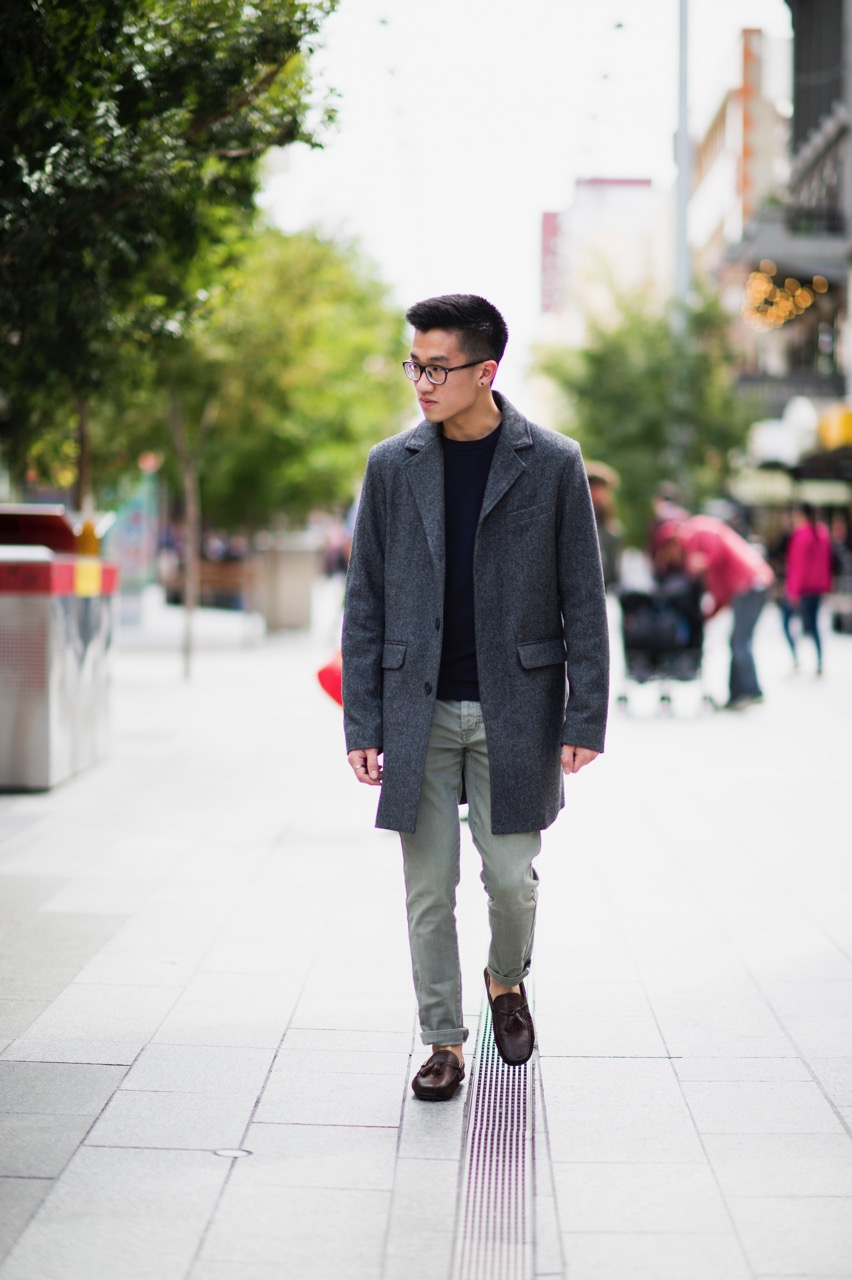 """SA: Lan Joey, Rundle Mall. """"I'm just out shopping with my friend."""" Photo: Eli Francis"""