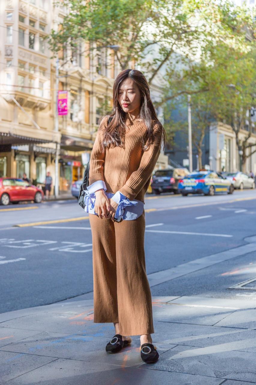 VIC: Cai Yu Chen, Collins St, Melbourne. Photo: Libby Matson