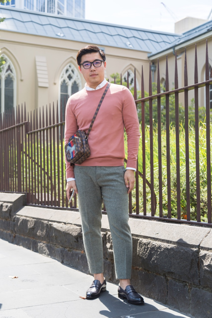 """VIC: Neil Yang, graduate, Elizabeth St. """"I'm looking for a job in shipping."""" Photo: Libby Matson"""