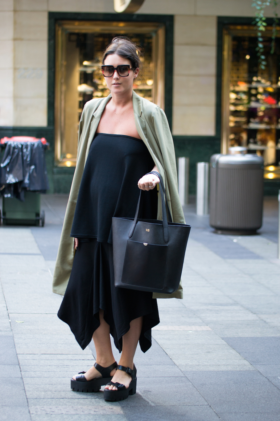 "NSW: Mollie Stevens, Stylist, Pitt St. ""Without humour, life is boring."" Photo: Alice Sciberras"