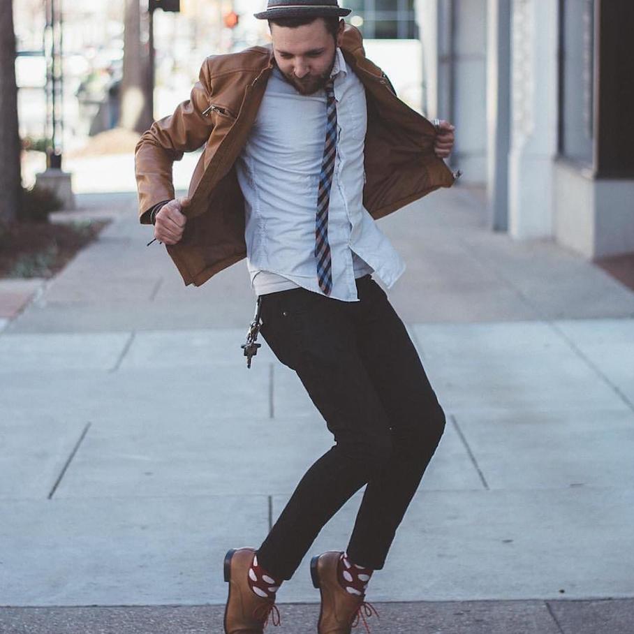 "Happy Socks. Photo: <a href=""http://instagram.com/steve_klye_s/"" target=""_blank"">Kyle Shinn</a>"