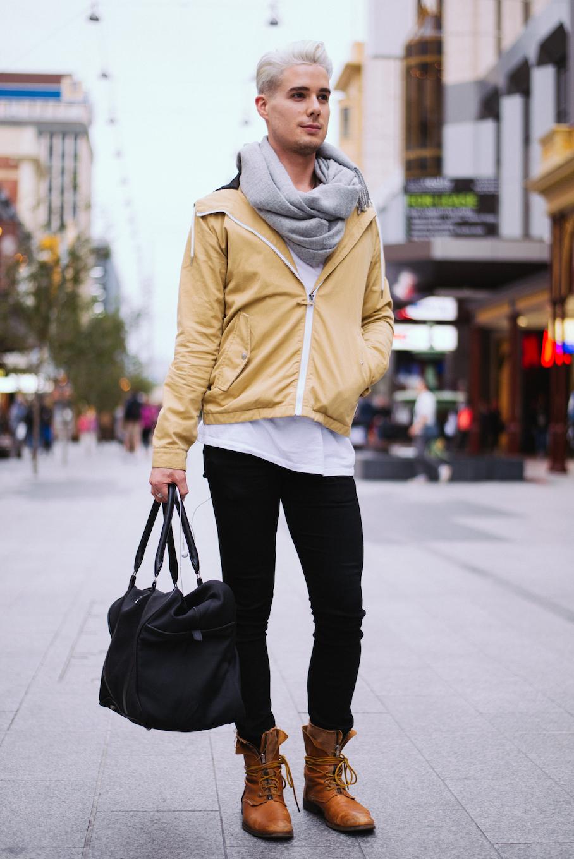 SA: Shaun Critchley, Stylist, Rundle Mall. Photo: Dimitra Koriozos