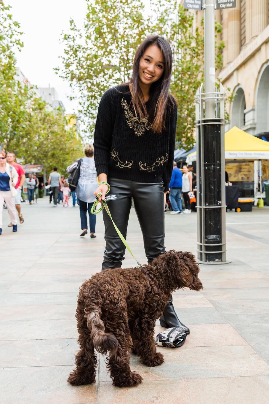 "WA: Melody Ip, Verteranarian, Perth city. ""I love my animals."" Photo: <a href=""http://www.rahstudios.com.au/street-style.html/"" target=""_blank"">Alain Quah</a>"