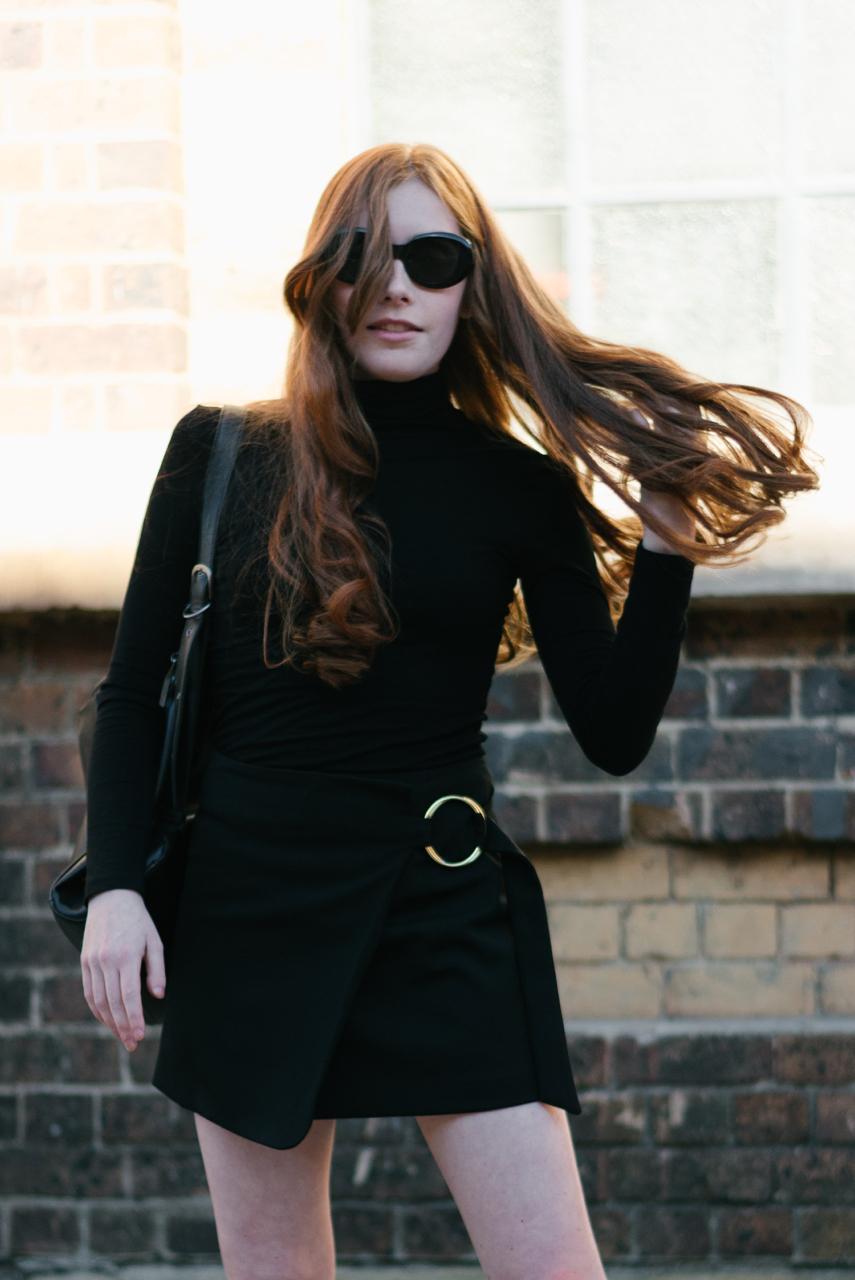 NSW: Emily Hampson, Uni Student, Fashion Week Sydney. Photo: Dimitra Koriozos