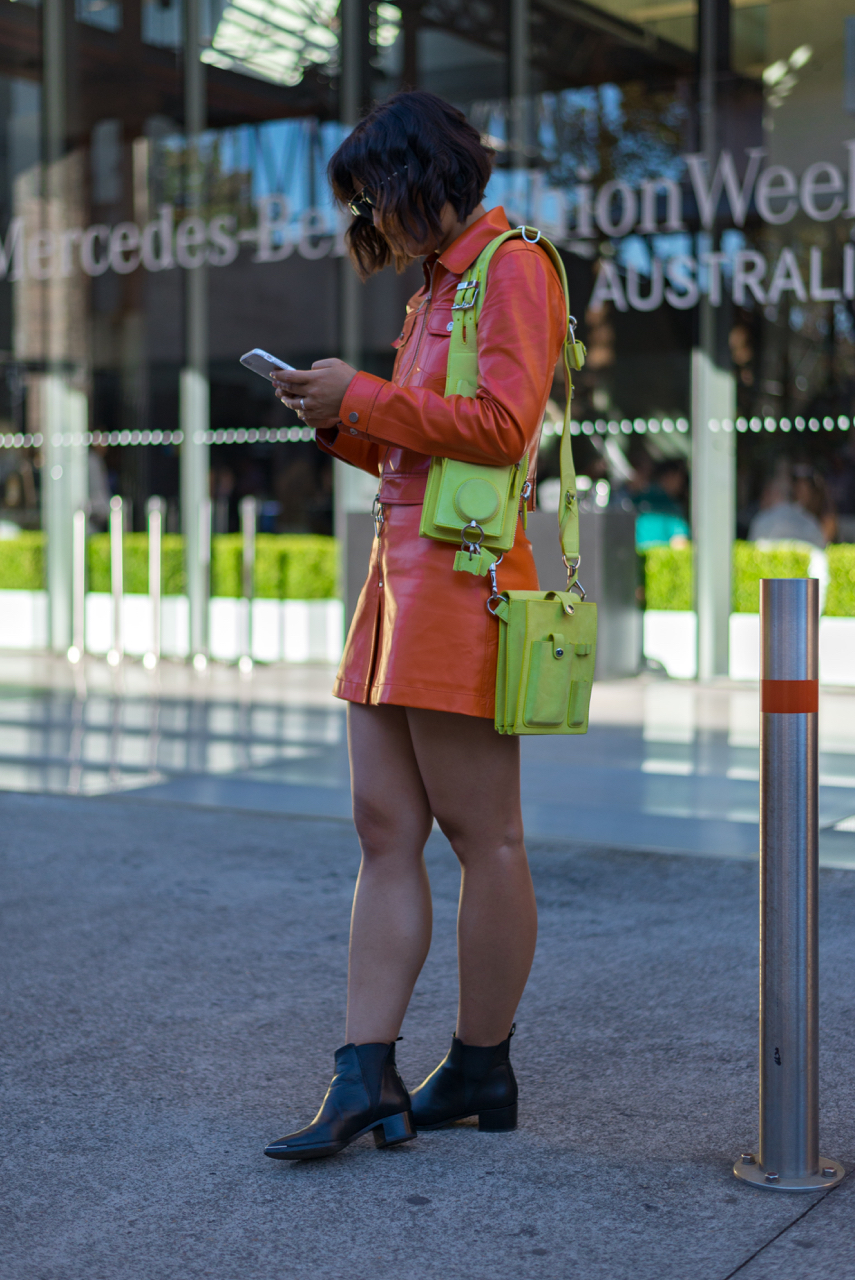 NSW: Jiawa Liu, Blogger - Beige Renegade, Carriage works, Sydney.  Photo: Dimitra Koriozos