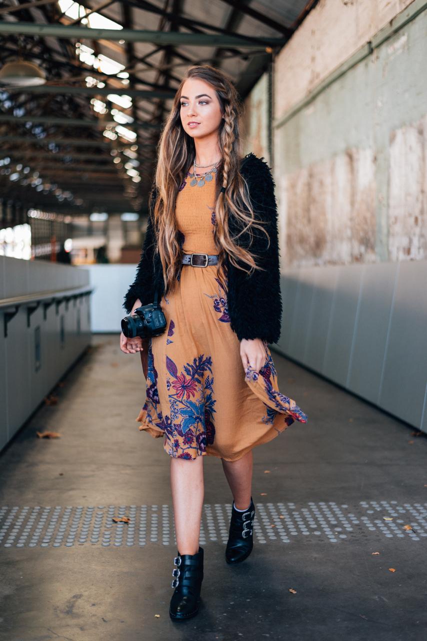 NSW: Asha Tregear, Student & Blogger, Fashion Week, Sydney. Photo: Dimitra Koriozos