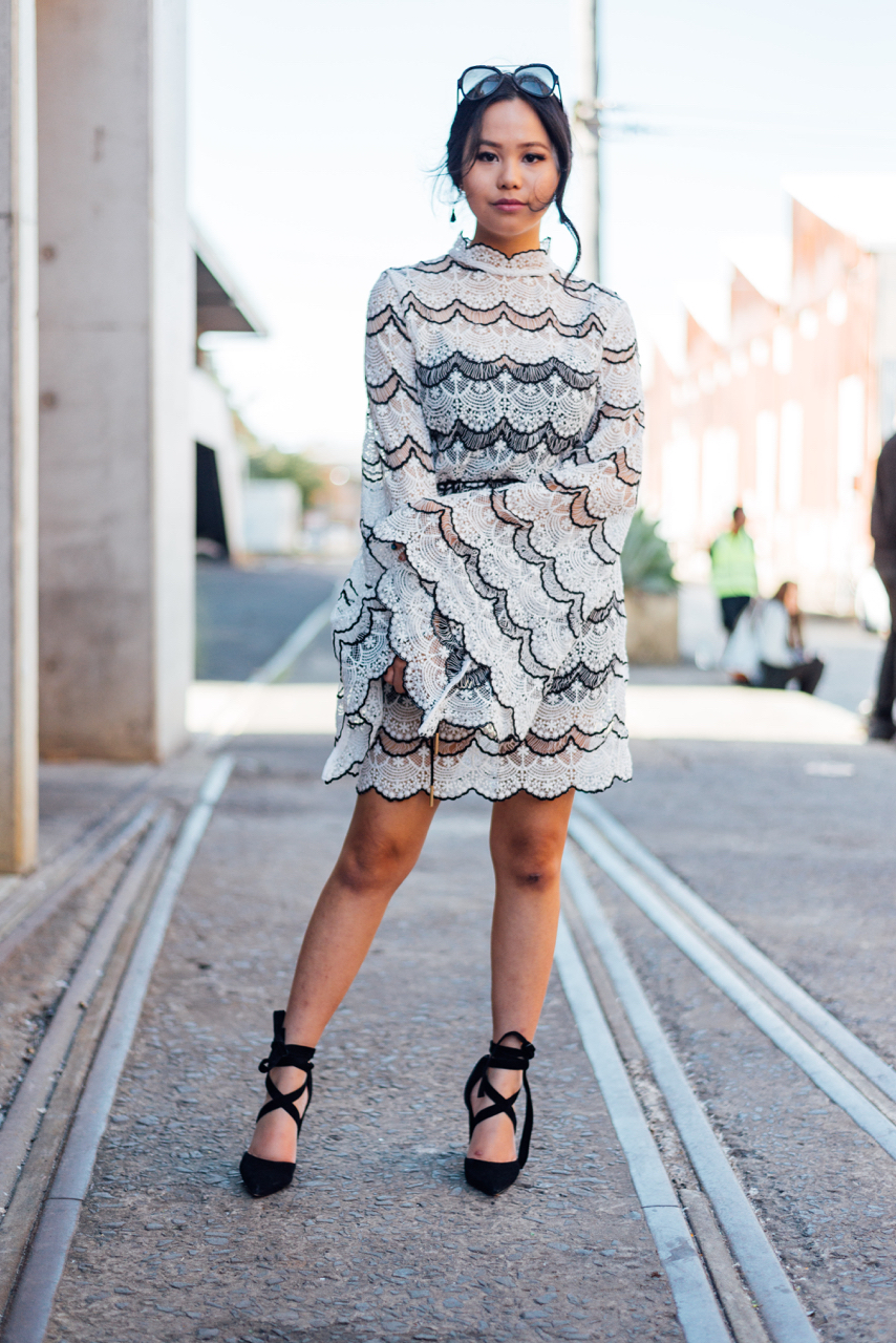 "NSW: Joanne Ly, Blogger, Carriageworks, Sydney. ""I'm neutrals all the way."" Photo: Dimitra Koriozos"