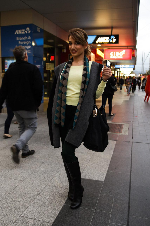 SA: Attiye, Beauty Therapist, Rundle Mall. Photo: Morgan Sette