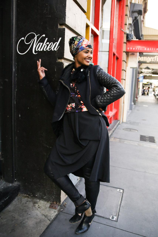"SA: Nadia Mahmoud, Retail. ""My style is 'Nadia'."" Photo: Morgan Sette."
