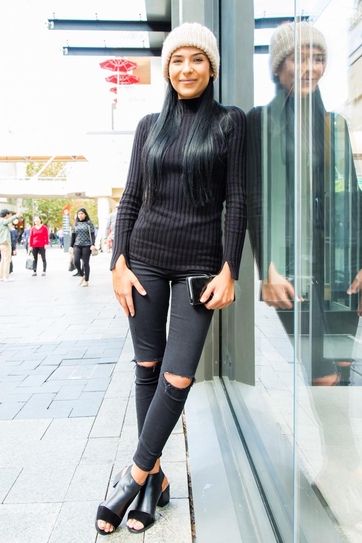 "WA: Samantha Zamatti, Retail, Perth City. ""I just want what makes me feel good."" Photo: <a href=""http://www.rahstudios.com.au/street-style.html/"" target=""_blank"">Alain Quah</a>"