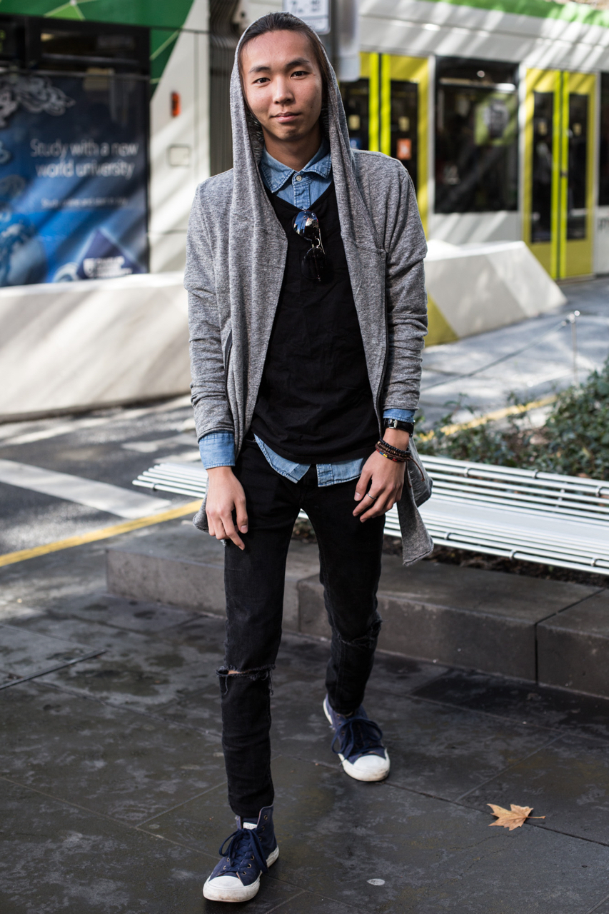 """VIC: Allan, Bourke St Melbourne. """"On my way shopping."""""""