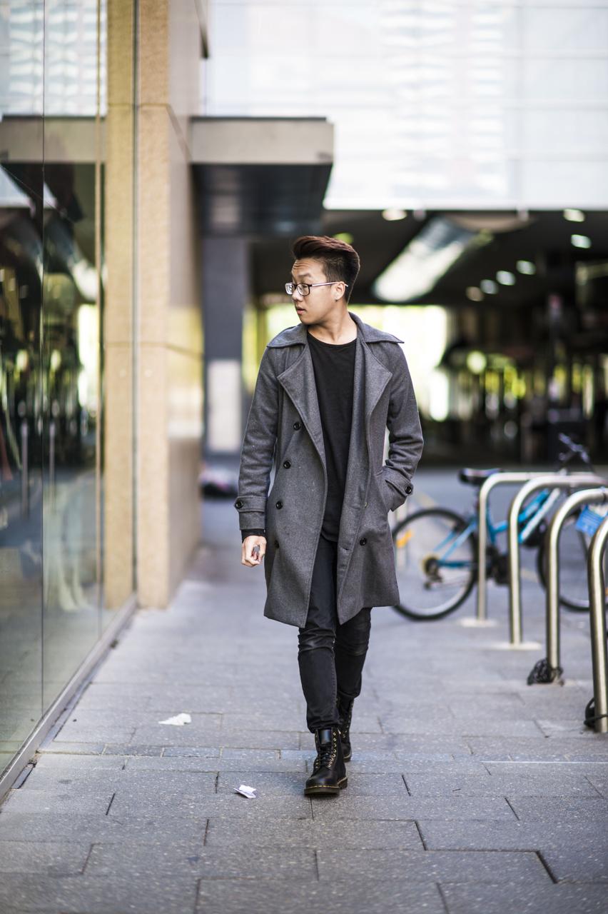 SA: Cypher, student, Rundle Mall. Photo: Eli Francis