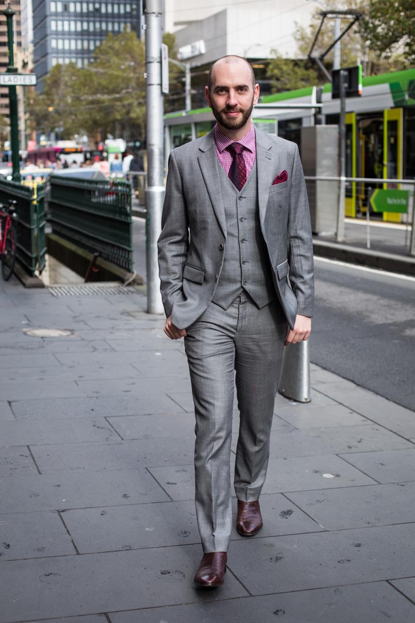 "VIC: Luke Winter, data analyst, Melbourne. ""I'm a minimalist."" Photo: Zoe Kostopoulos"